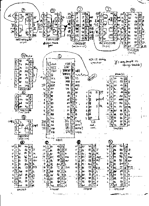 MicroWriter Reverse-Engineered Schematic. (Click to view.)