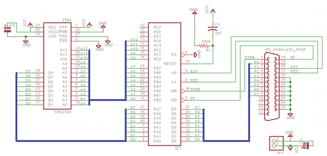 MicroWriter RomSucker Circuit. Easy to build, Applicable to Other Vintage Devices.